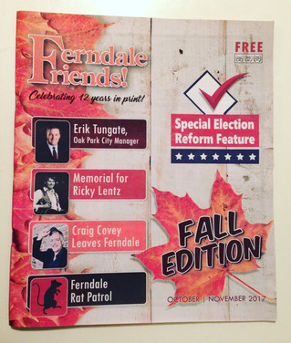 Fall 2017 - Ferndale Friends Newspaper
