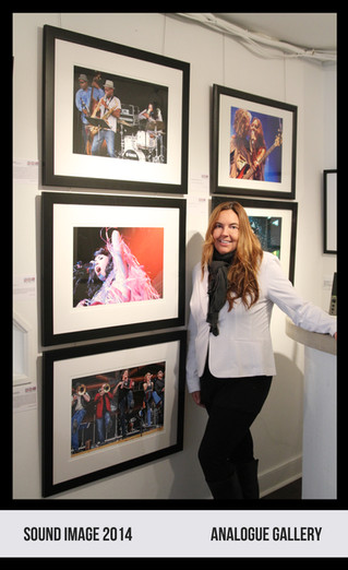 SOUND IMAGE Photography Show - Analogue Gallery Artist's Reception