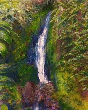 Waterfall on Mount Roraima