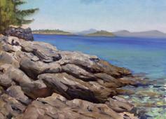 Rocks into Sea