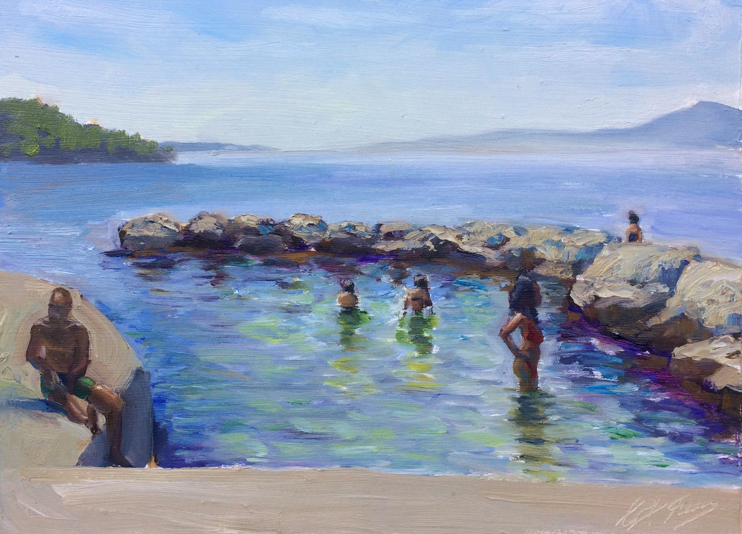 Rock Pool in Zadar