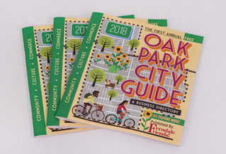 Presenting the 2018 Oak Park City Guide!