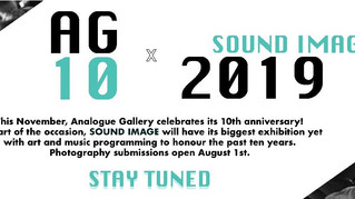10 Year Anniversary Show at  Analogue Gallery
