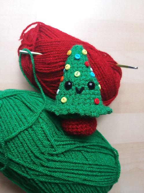 Amigurumi crochet cute Christmas tree pattern