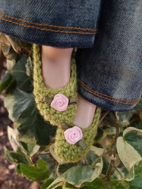Crochet Smartdoll Slipper, Youtube Version Pattern