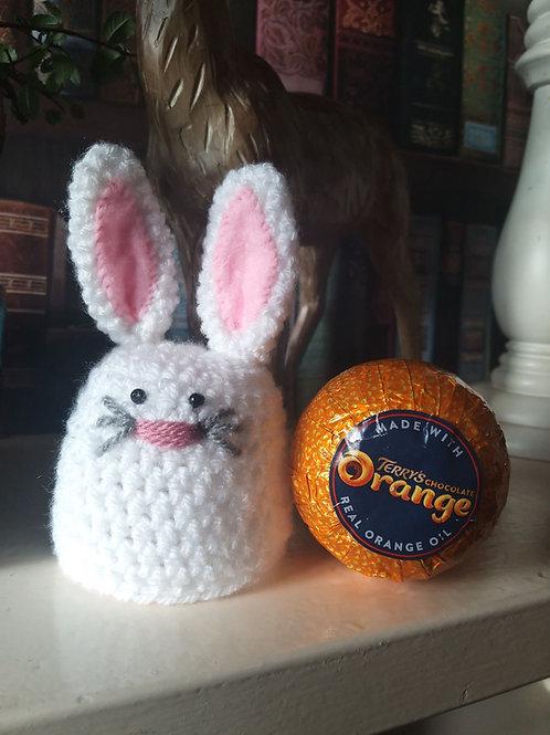 Crochet Pattern for Bunny Chocoalte Orange cover