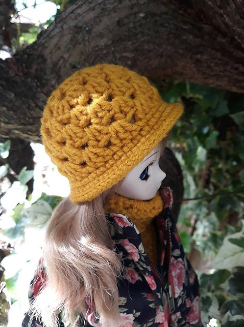 Hat and scarf set for Smardoll