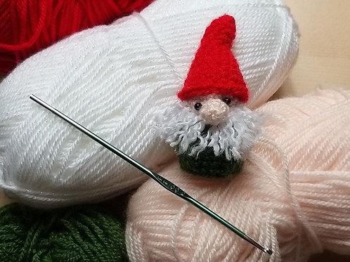 Crochet pattern Gnome Ferrero Rocher cover