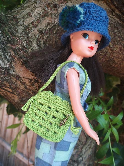 Crochet bag for Sindy