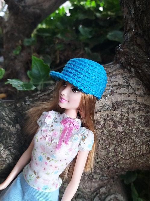 CrochetBarbie Peak hat pattern