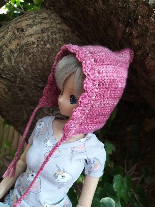 Smartdoll crochet pixie hat pattern