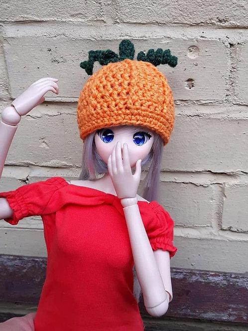 Cute pumpkin hat for Smartdoll