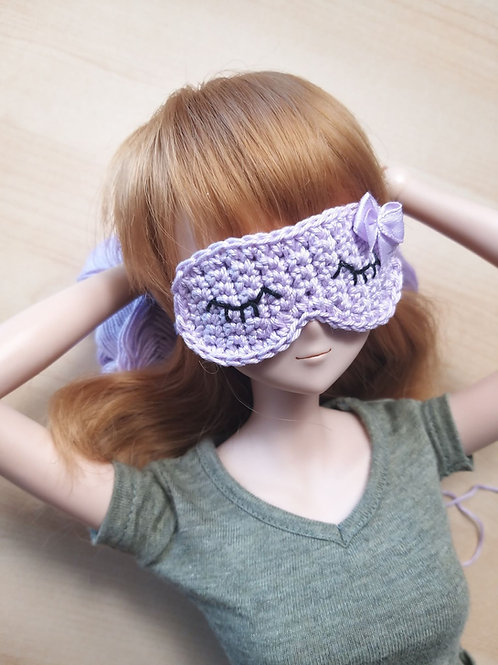 Smartdoll lilac sleep mask