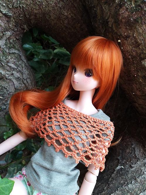Smartdoll crochet lacy mini poncho