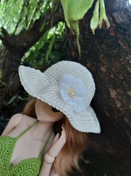 Smartdoll Crochet Sun Hat 3 colours available