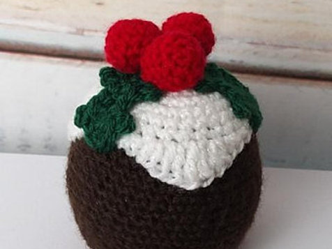 Crochet pattern for Christmas Chocolate Orange cover