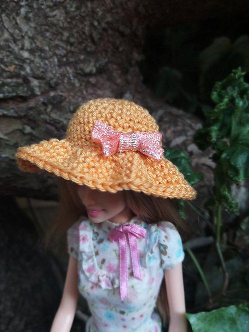 CrochetBarbie Sun hat pttern
