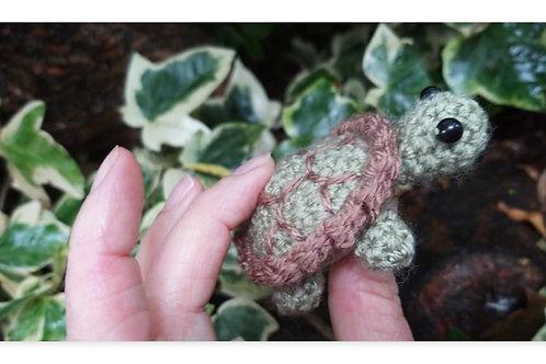 Amigurumi Crochet  Turtle Pattern, Youtube Version