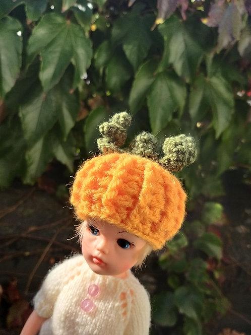 Sindy Doll Pumpkin hat