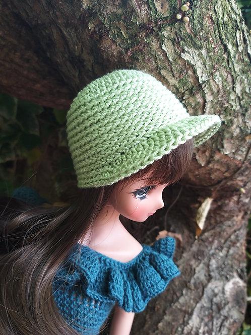 Smartdoll crochet peaked cap