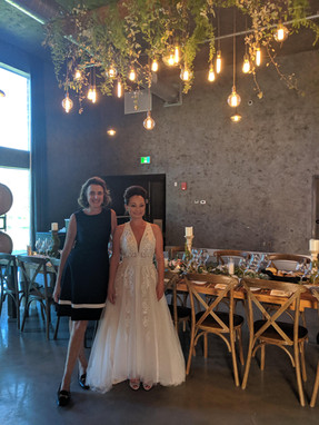 Anne and Bride at Hare Winery