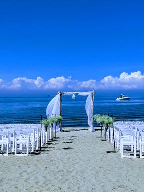 Club LaSalle Wedding on the Beach