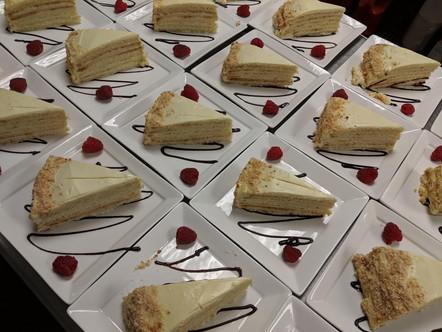 Plated Dessert Course