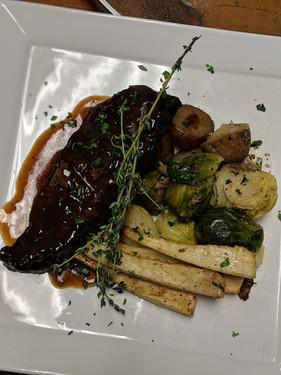 Plated Beef Short Rib