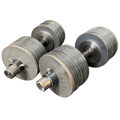 Adjustable Dumbbells Pair Steel