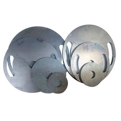 """Calibrated Weight Plates 2"""" (Pair)"""