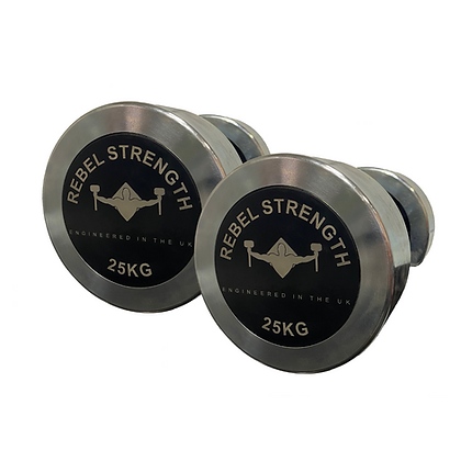 Steel Fixed Weight Dumbbell Zinc Coating