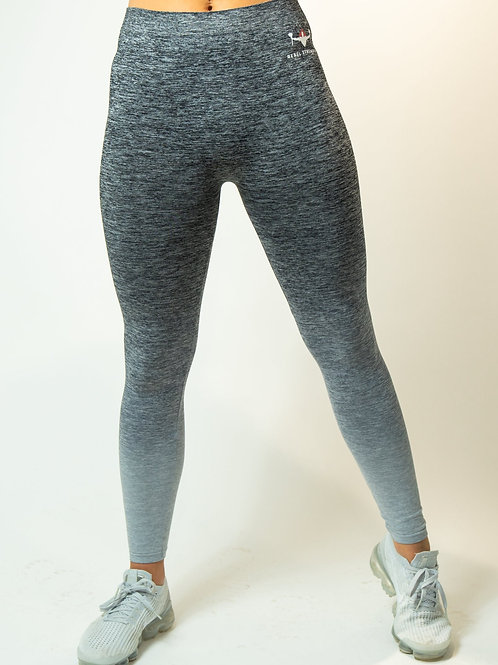 Grey Ombre Seamless Leggings