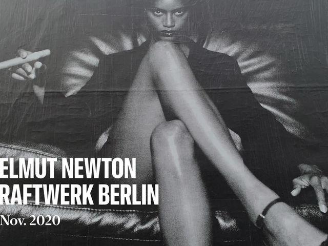 Helmut Newton 100 Freiluftausstellung