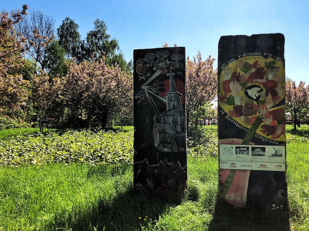 #BerlinerMauer 'Todesstreifen #Mauerweg #japanisches #Kirschblütenfest #Berlin