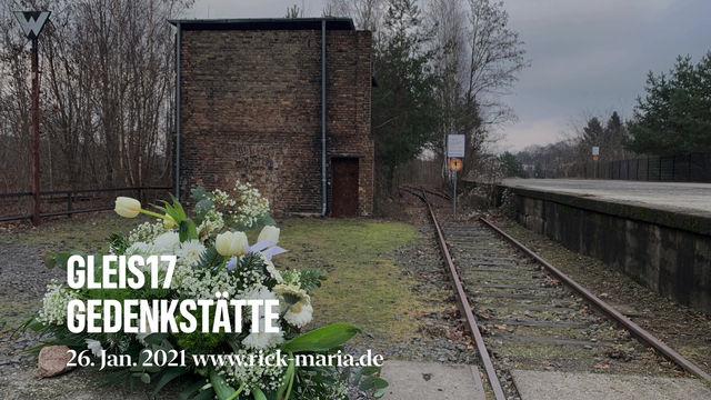 Gedenktag zum Holocaust am Gleis 17