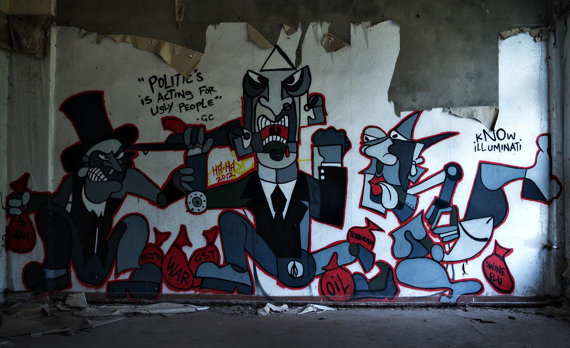 streetart - Kapitalismus