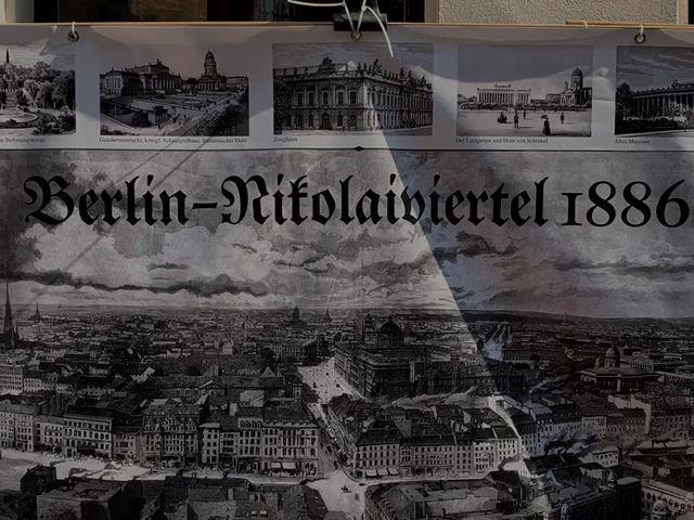 Historisches Straßenfest im Nikolaiviertel Berlin
