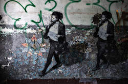 streetart, out of the dark...