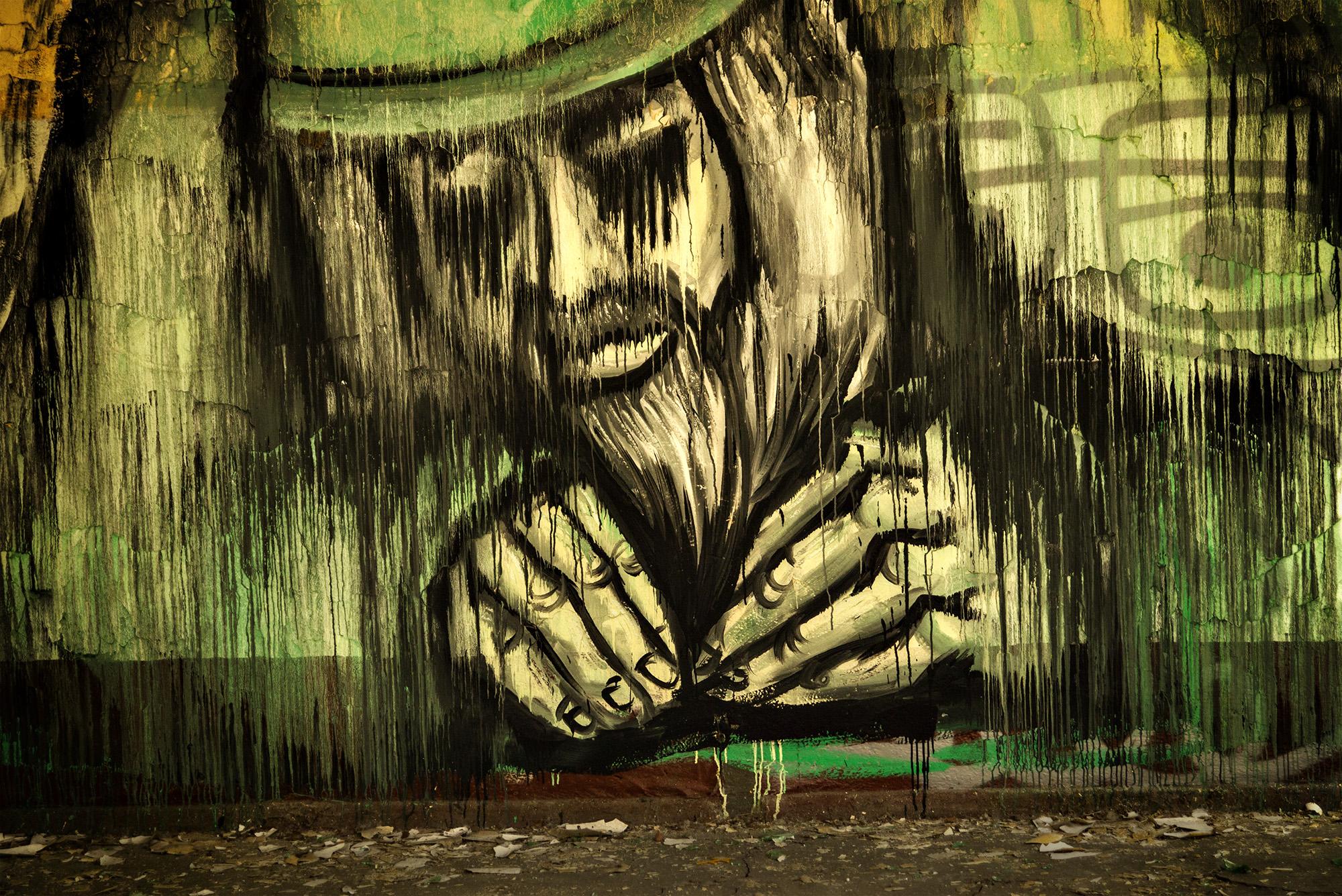 streetart - der Bastler...