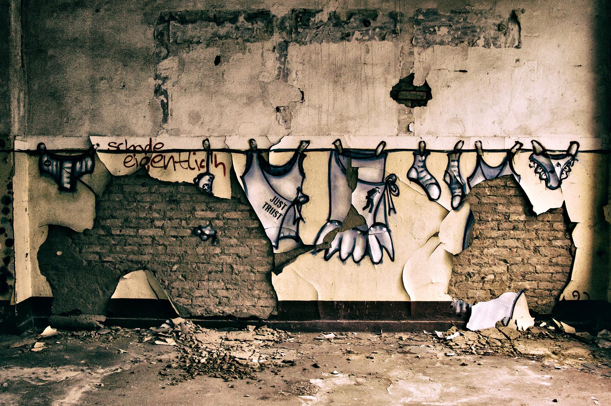 streetart, Waschtag