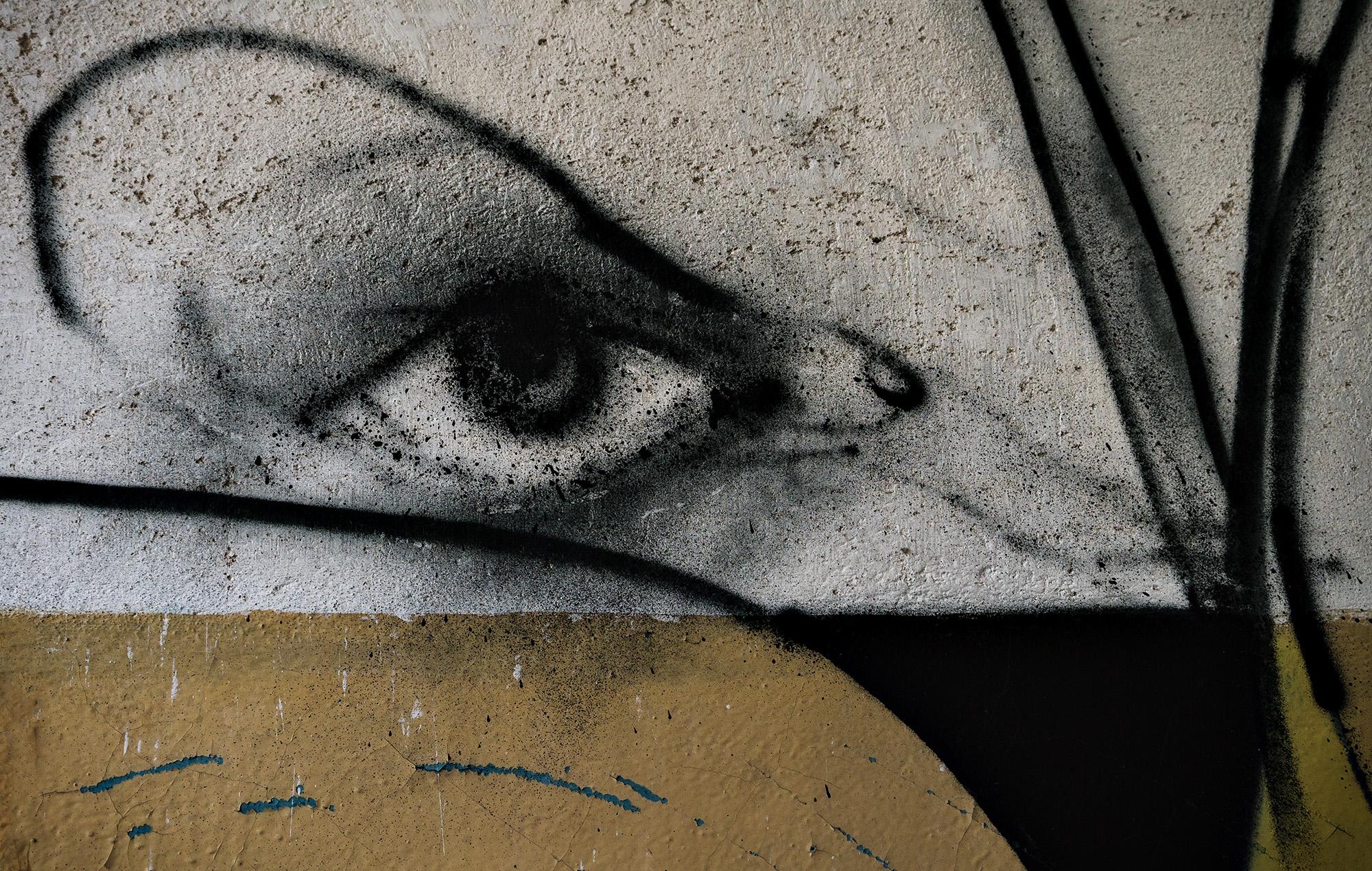 streetart, der Blick