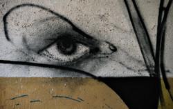 streetart -  der Blick