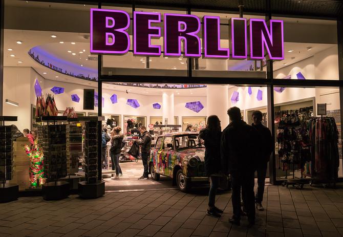 Streetlife Berlin in Farbe