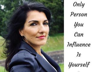 You can only influence yourself