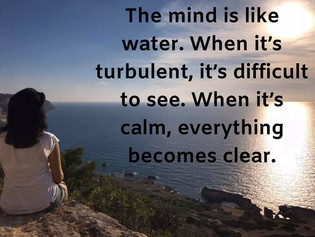 Clear in your mind, clear in your decisions
