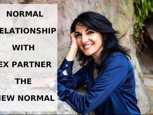 Normal relationship with ex partner the new normal