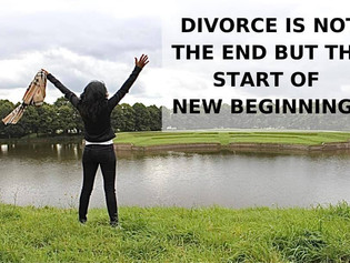 Divorce is not the end but the start of New Beginnings