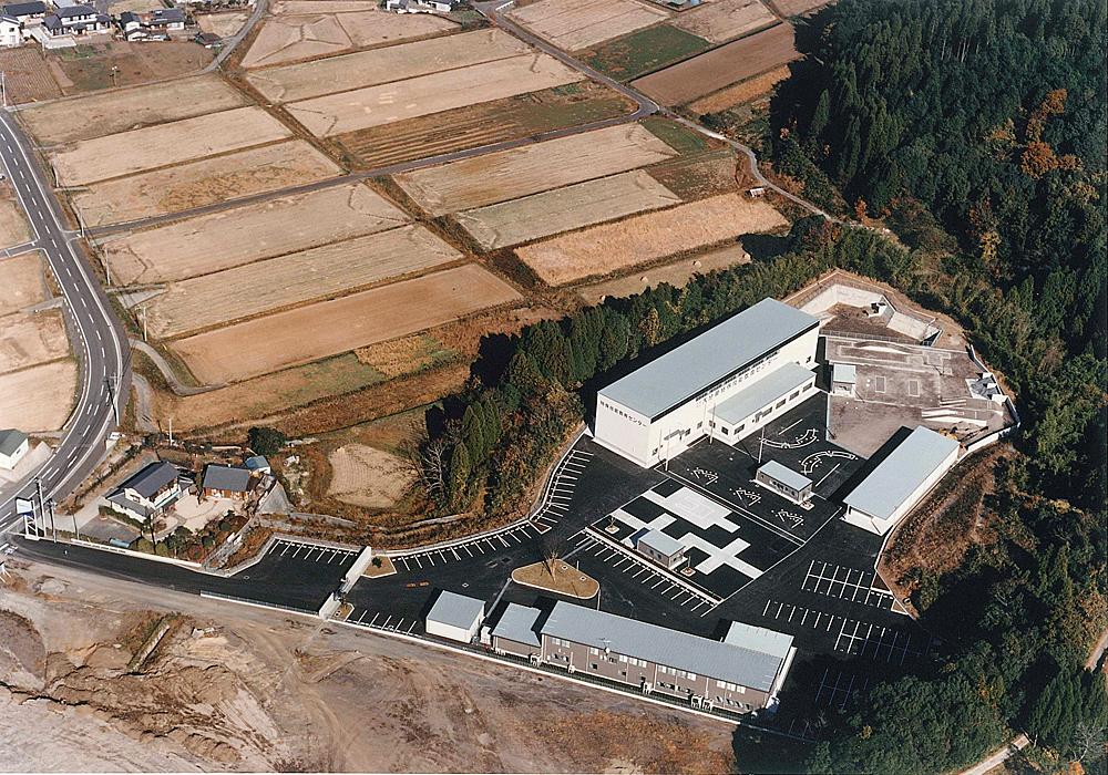 大分県特殊技能教育センター 空撮
