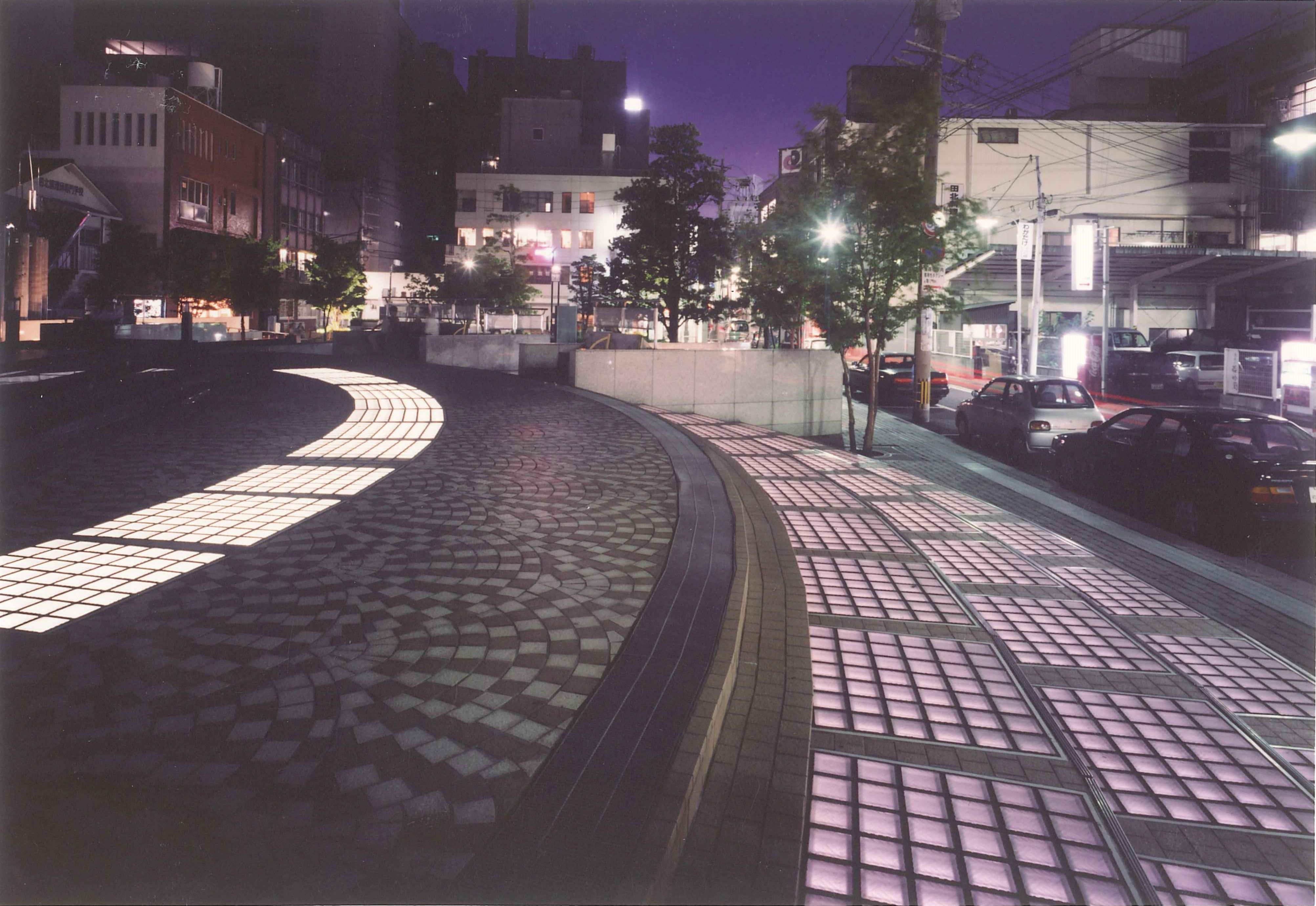 府内アクアパーク夜景