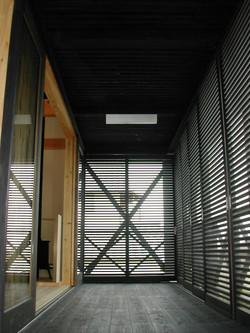 風の谷の家2階テラス